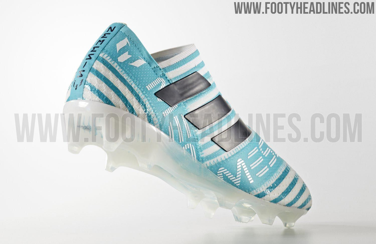 The new Adidas Nemeziz Messi 360Agility 2017 football boots introduce a  breezy look for the Messi version of the new Adidas silo 6fe003367