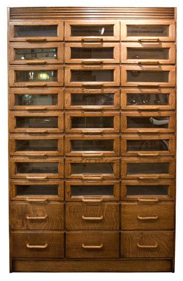 Vintage Haberdashers Cabinet