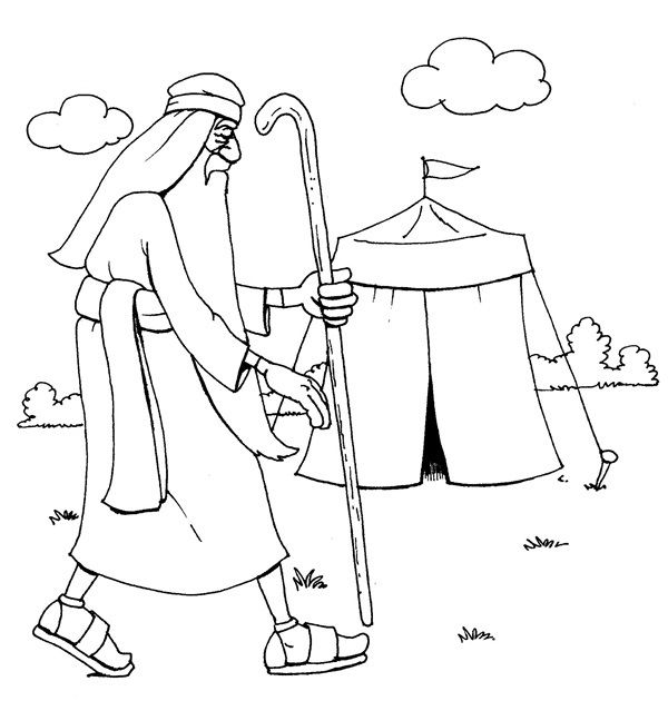 Coloring Pages Methuselah 1 Preschool Bible Lessons