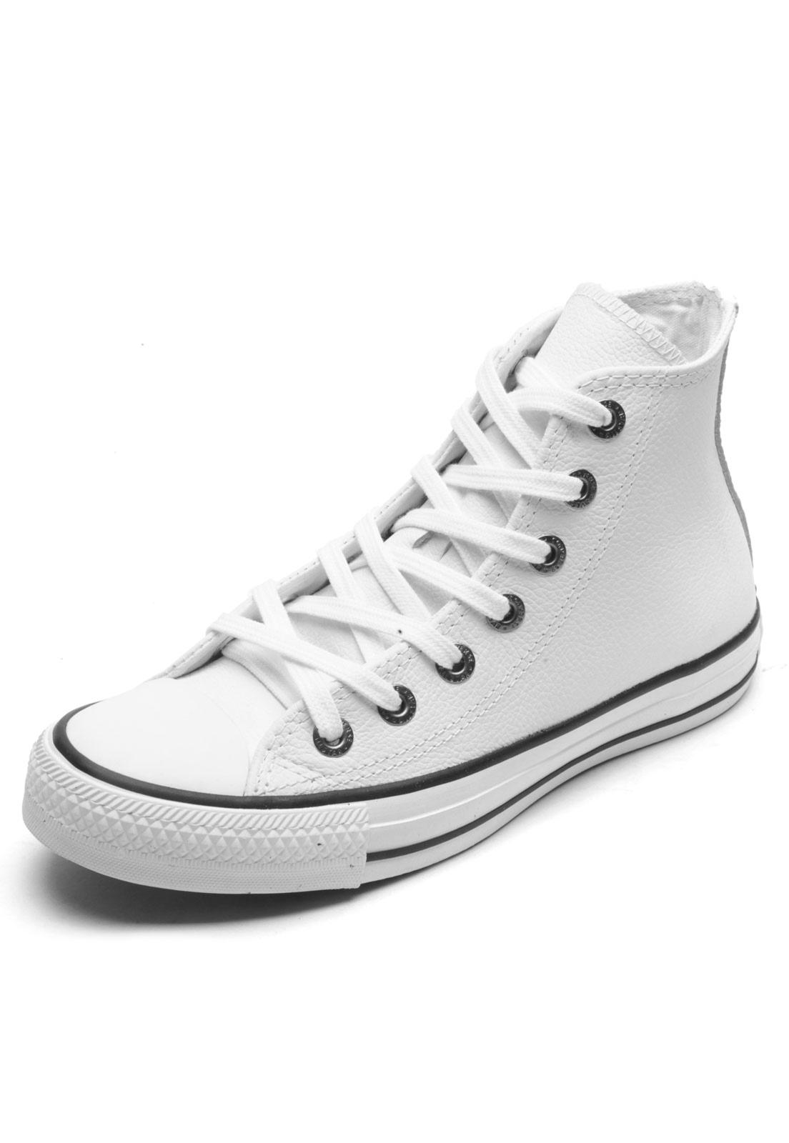 07c4c9d3d Tênis Converse Chuck Taylor All Star Hi Branco