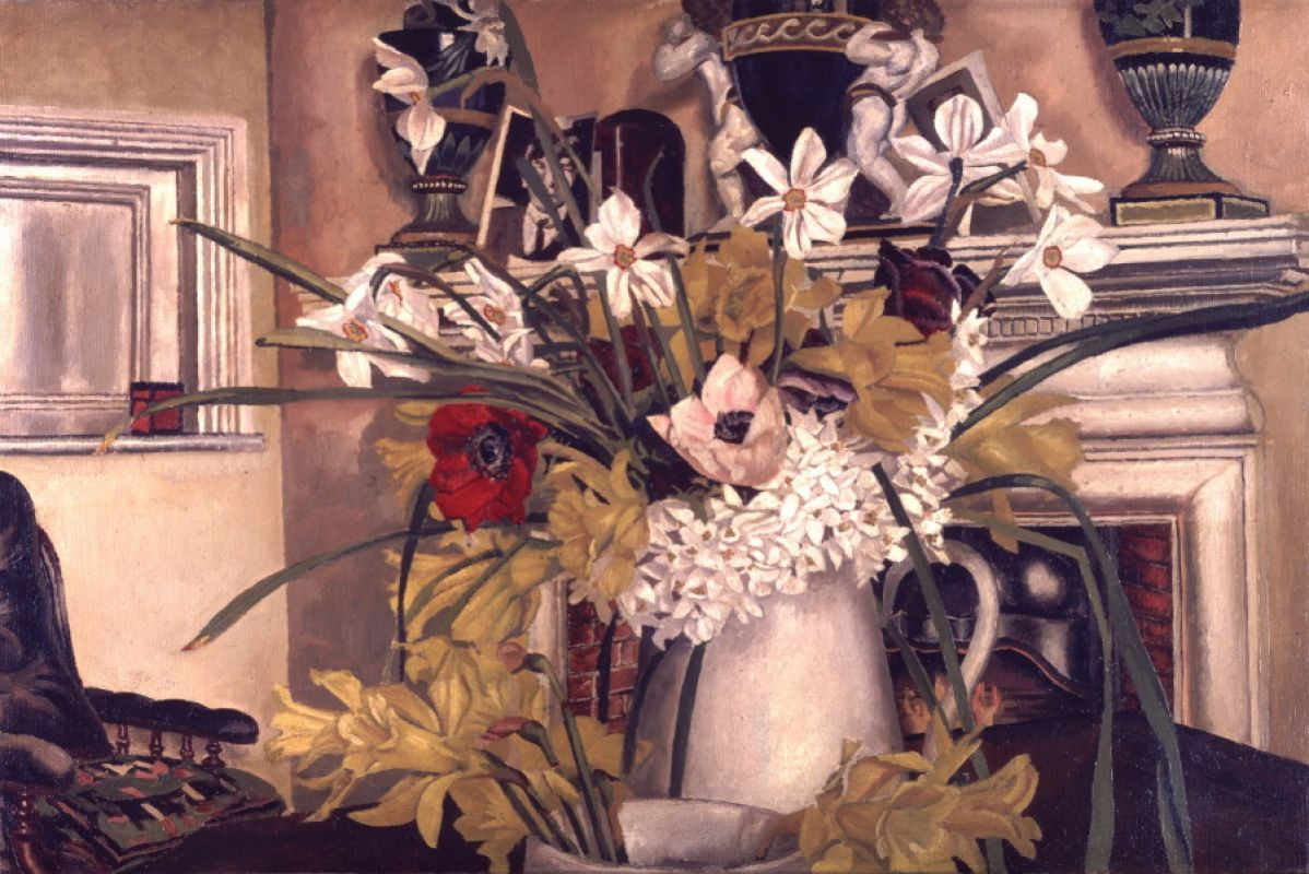 Image result for Interior at Cookham stanley spencer national gallery queensland