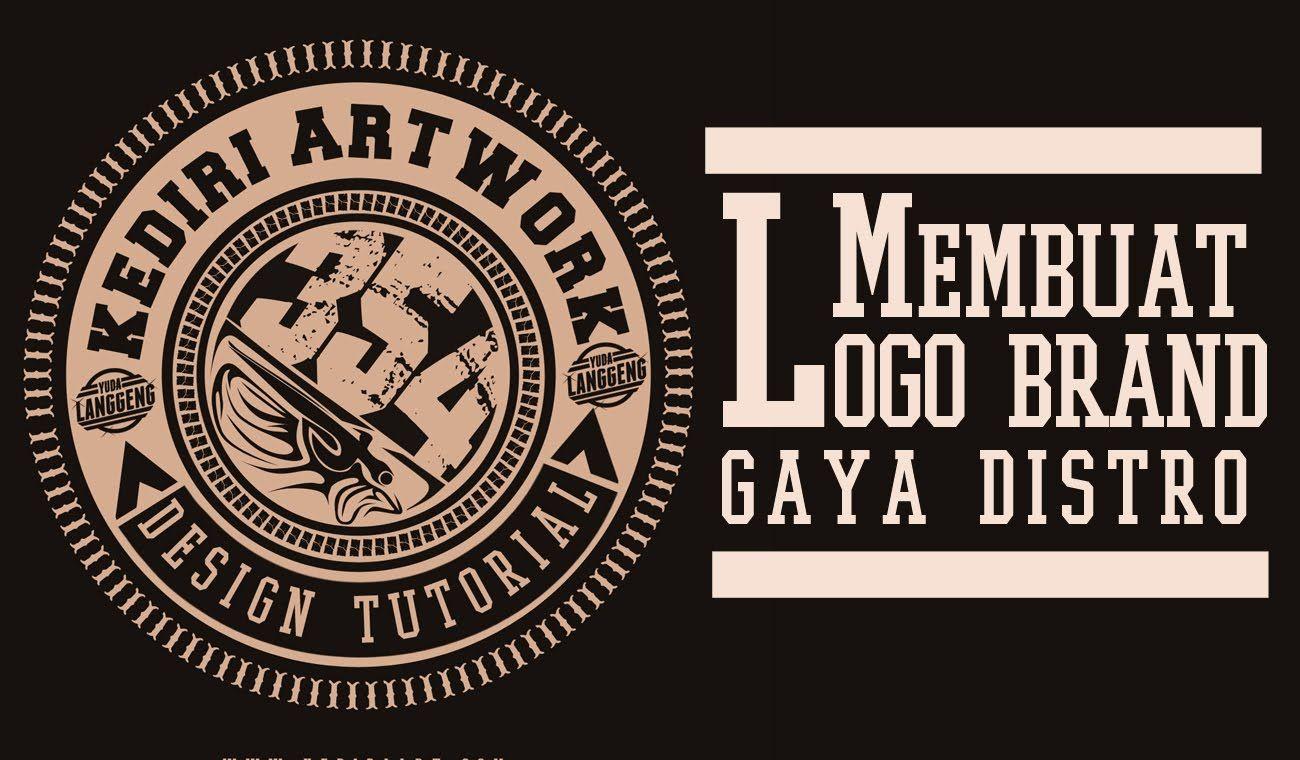 Membuat Logo Brand Distro Tutorial (Lengkap