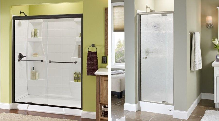 Elegant Fiberglass Shower Enclosures | Stik Stall Shower Door Models | Shower  Doors, Bathroom Enclosures ... | Bathroom | Pinterest | Fiberglass Shower  Stalls, ...