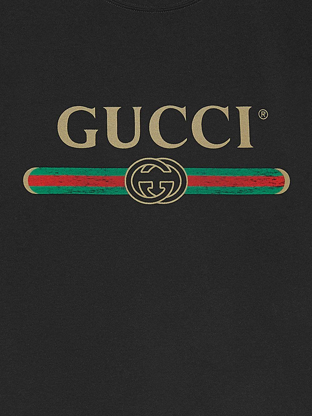 Gucci футболка с логотипом бренда Футболки, Логотип