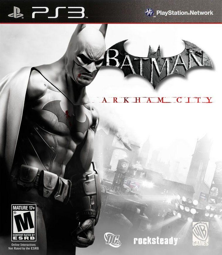 Kết quả hình ảnh cho Batman Arkham City cover ps3