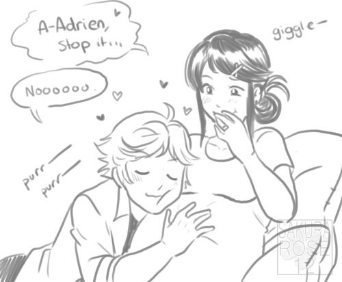 Pregnant Marinette & Chat Adrien | Miraculous Ladybug in