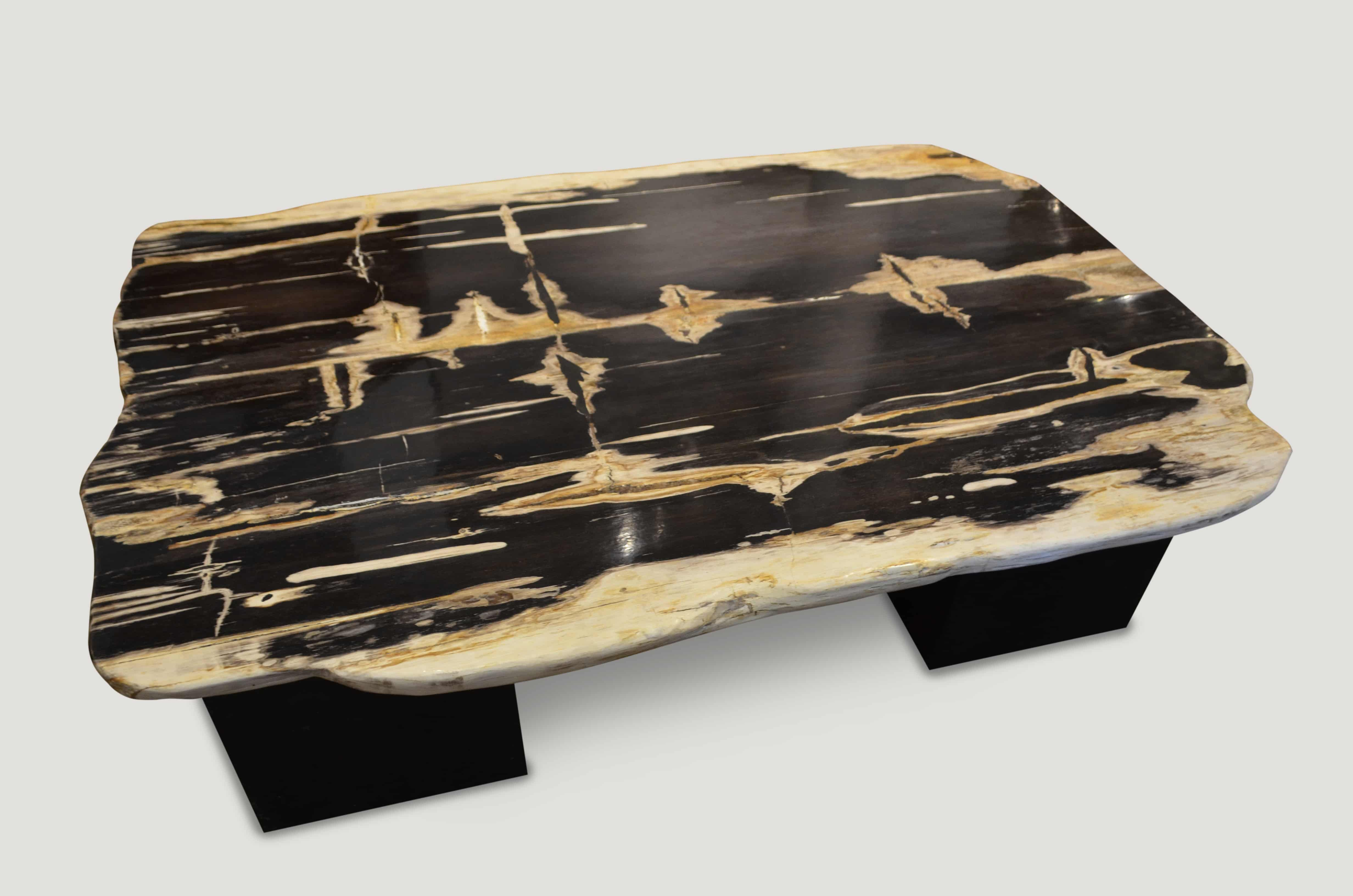High Quality Petrified Wood Side Table With Images Petrified Wood Side Table Wood Wood