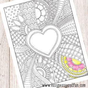 Mermaid Coloring Page for Adults - Easy Peasy and Fun ...