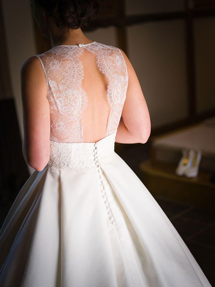 Rustic Luxe Wedding Dress