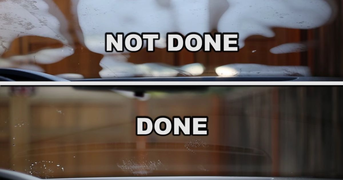 Guy figures out how to defog a car windshield in half the
