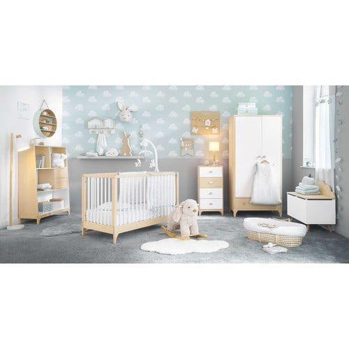 MOONLIGHT Aqua Throw with White Motifs 100 cm x 75 cm Maisons du - peinture chambre bebe fille