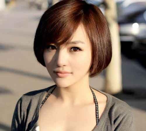 Cute Short Haircut For Asian Girl