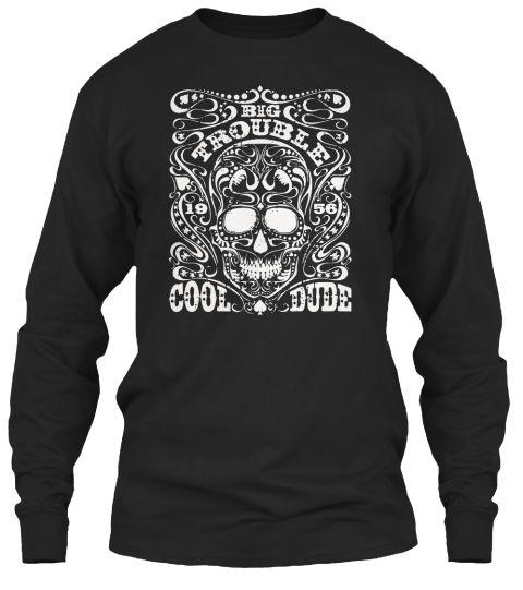 Big Trouble Cool Dude 1956, Tshirt | Lojas e Preto