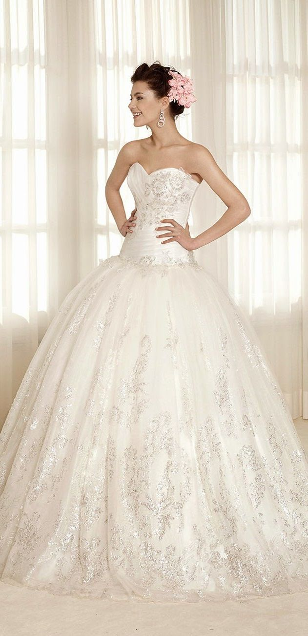 fairytale wedding dress, from Delsa | Wedding Dresses - Princess ...