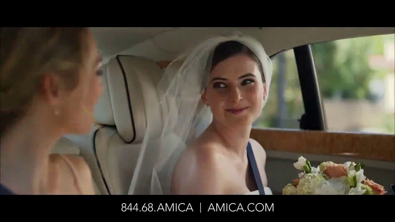 Amica Insurance Company >> Amica Mutual Insurance Company Wedding Ad Commercial On