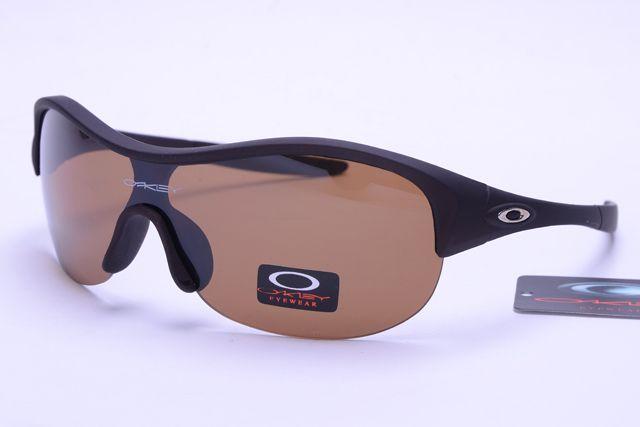 Radar Oakley Glasses Black Deep Brown Frame Brown Lens