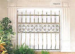 نتيجة بحث الصور عن شبك حديد نوافذ Iron Windows Roman Shade Curtain Home Decor