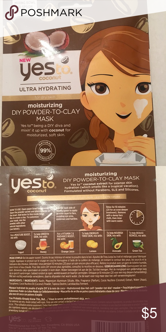 Cucumbers Calming DIY Powder To Clay Mask by yes to #21