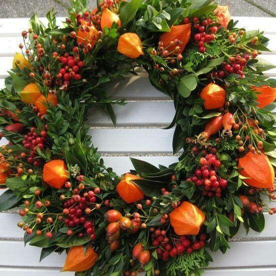 Photo of Autumn – Hoflädele decoration – Wreath
