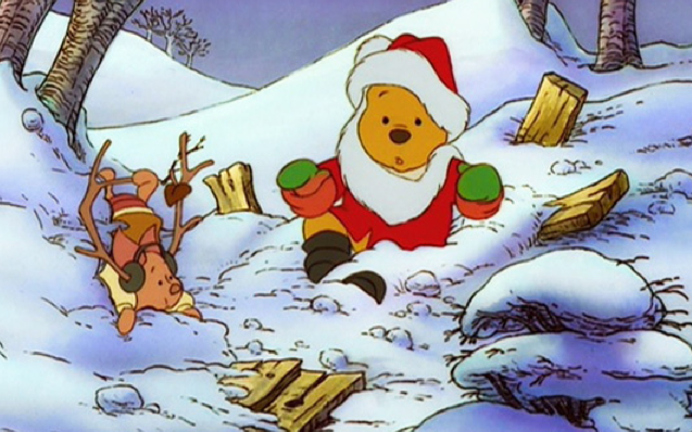 Winnie The Pooh Christmas.Winnie The Pooh And Christmas Too Pooh And Friends