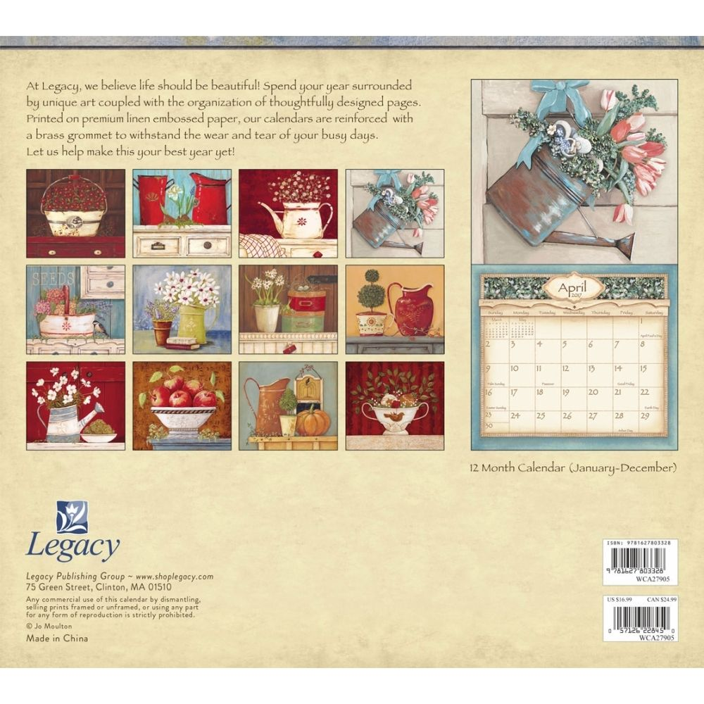 Gentler Thymes Moulton Wall Calendar | Tablo pano | Pinterest ...