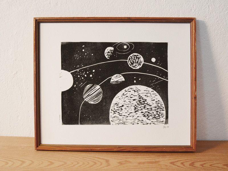 Linoldruck Baren Ein Designerstuck Von Wedocutprint 15