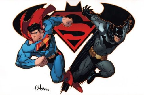 Superman and Batman by Ed McGuinness