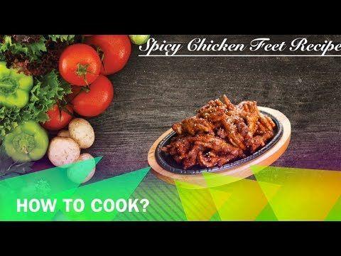 Spicy Chicken Feet Recipe Buhay Kusina Spicy Chicken Feet Recipe