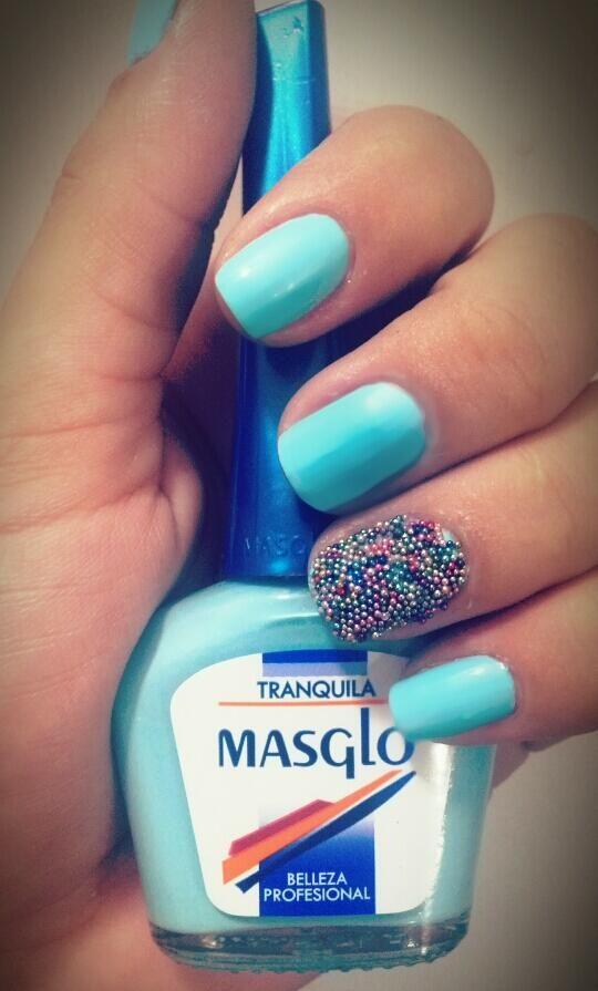 Cortesía de @lucympg88 #Caviar #MASGLO #TRANQUILA | Uñas ...