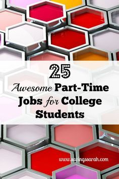 25 Awesome Part-Time Jobs for College Students