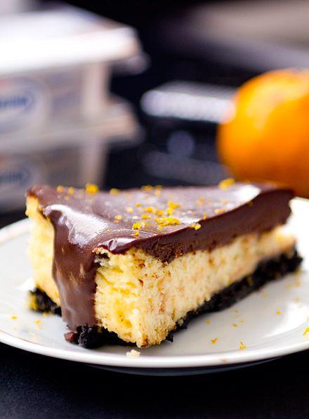 Cheesecake de Mixirica com chocolate