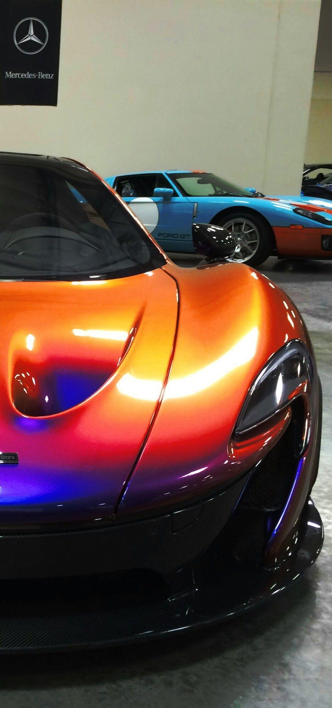 CJ Wilson's McLaren P1 Follow me;