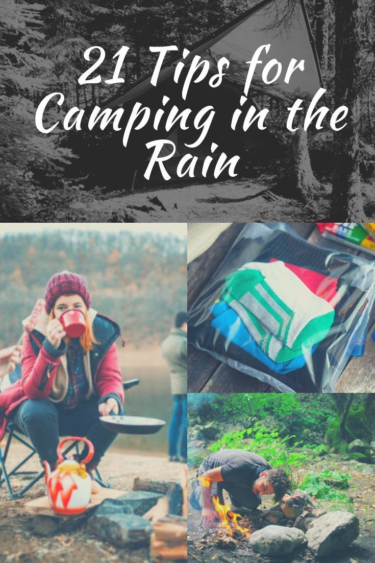 21 Tips for Camping in the Rain | Family camping trip ...