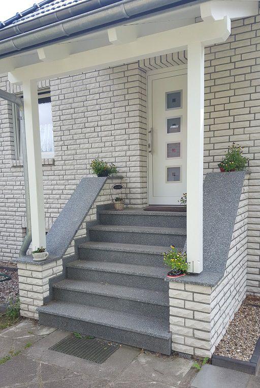 Außentreppen, Hauseingang - Baustoffe Stübing #innenhofgestaltung