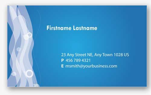 4 Blue Personal Business Cards Templates | Cosas que comprar ...