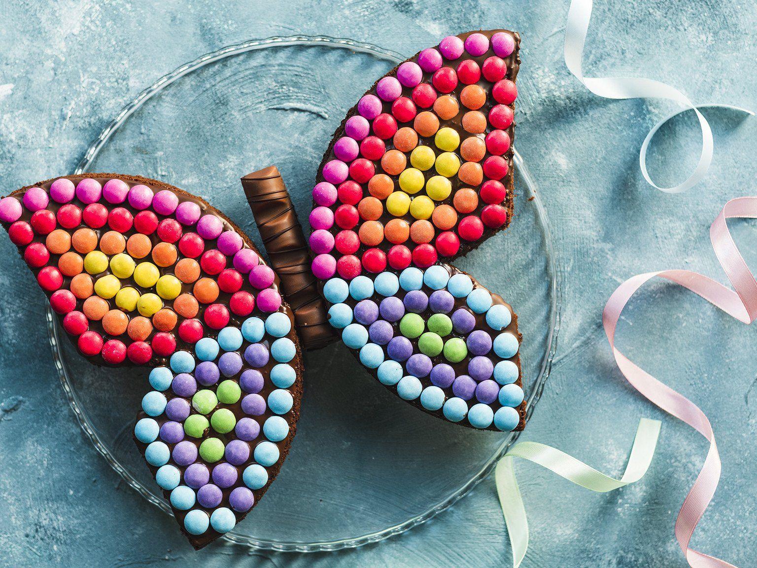 Schmetterlingskuchen Zum Kindergeburtstag Rezept Schmetterlingskuchen Schmetterling Kuchen Und Kuchen Kindergeburtstag Schmetterling