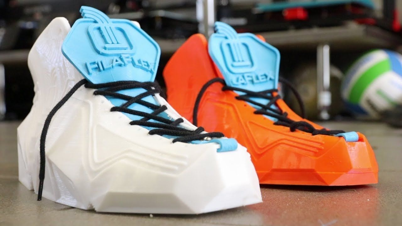 Awesome 3D Printed Flexible Shoes Flexible shoes