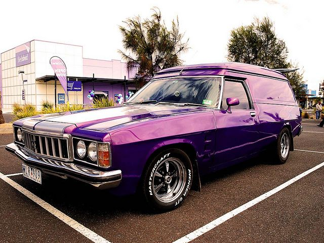 1976 Holden HX Sandman Van  Maintenance/restoration of old/vintage vehicles: the…