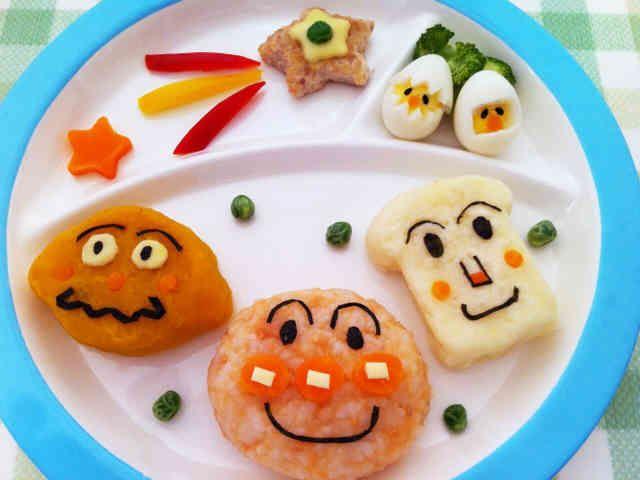1歳のお誕生日アンパンマン プレート By ほぺった レシピ 一歳 誕生日 離乳食 誕生日 料理 誕生日ご飯