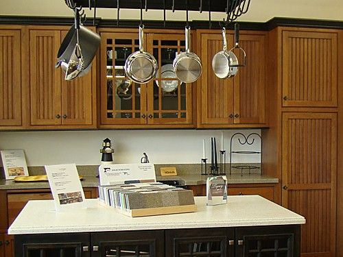 Kitchen display at our New Hampshire kitchen showroom.