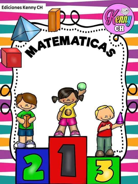 Pertenece A Victor Jarama 2 C Caratulas De Matematicas Portadas De Trabajos Escritos Cubiertas De Carpeta De Escuela