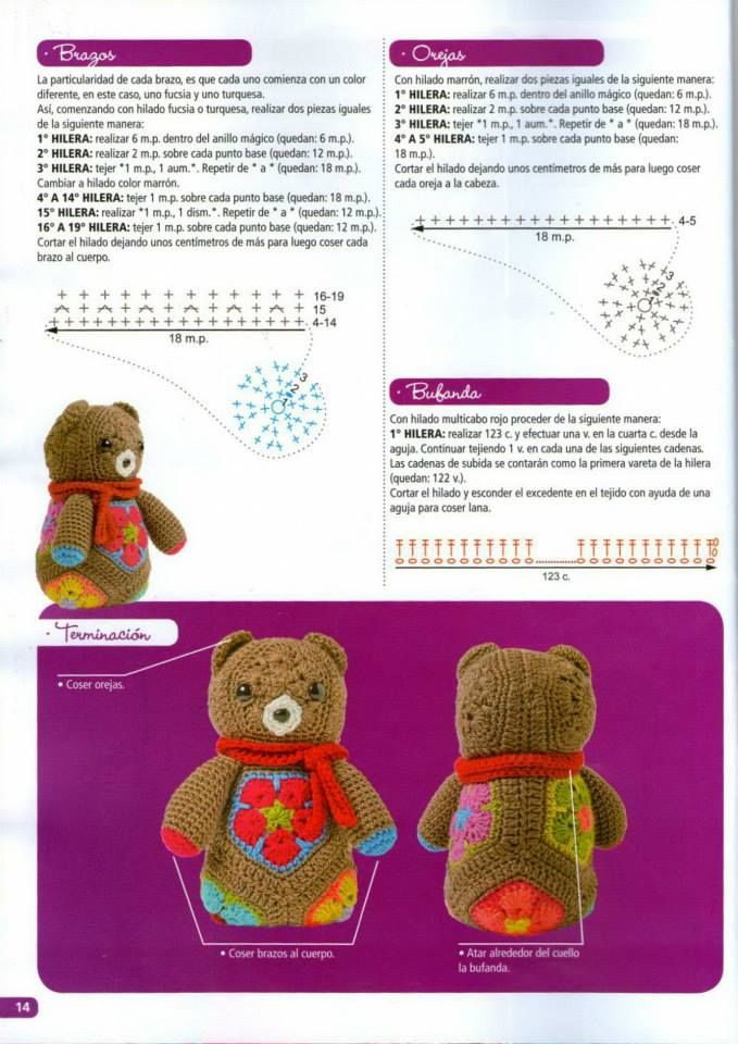 Pin de Eunicews99 Sayago en Animales al crochet | Pinterest ...