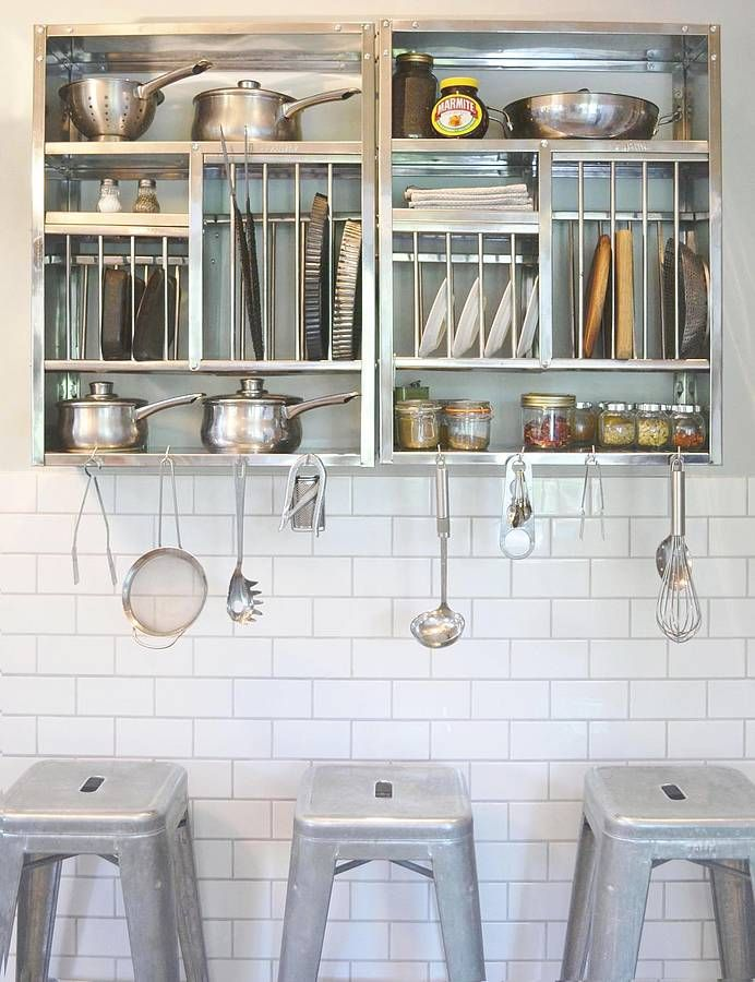 Middle Stainless Steel Plate Rack With Images Kitchen Rack Plate Racks Kitchen