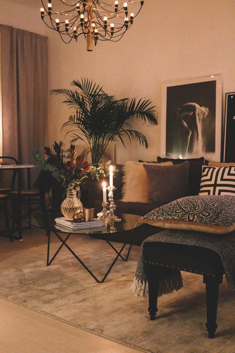 Wohnzimmer gem tlich eingerichtet livingroom interior for Wohnzimmer dekoration inspiration