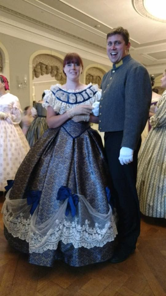 Civil War era ball gown for reenactment - Visit to grab an amazing ...