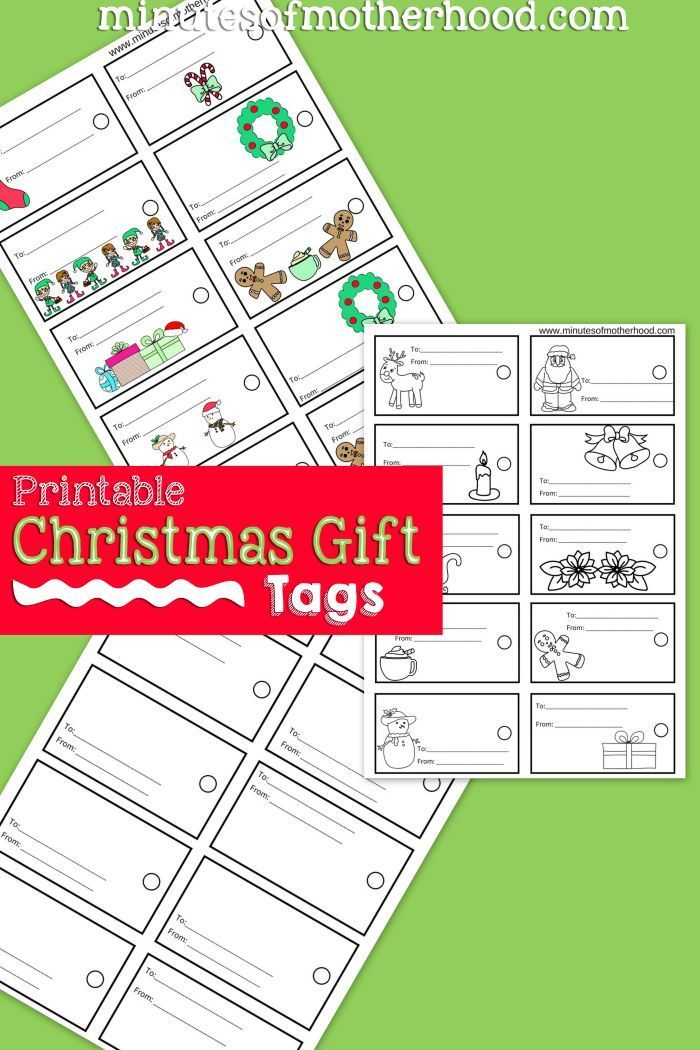 Free printable christmas gift tags color your own gift tags free printable christmas gift tags color your own gift negle Gallery