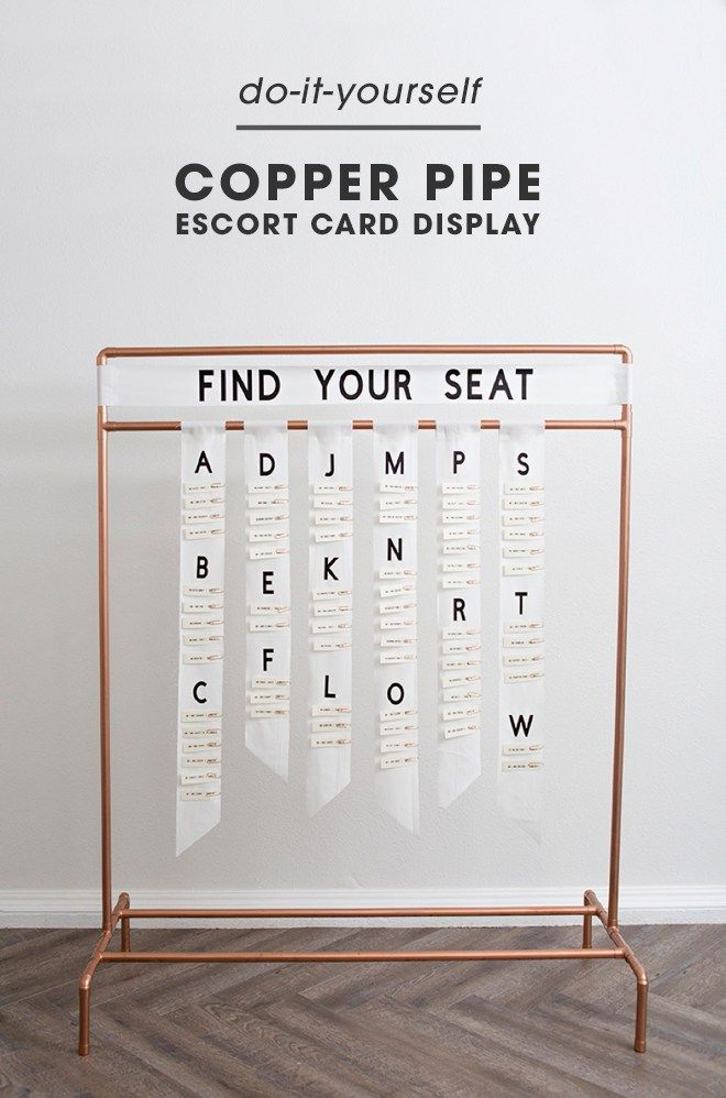 Pin On Escort Card Displays
