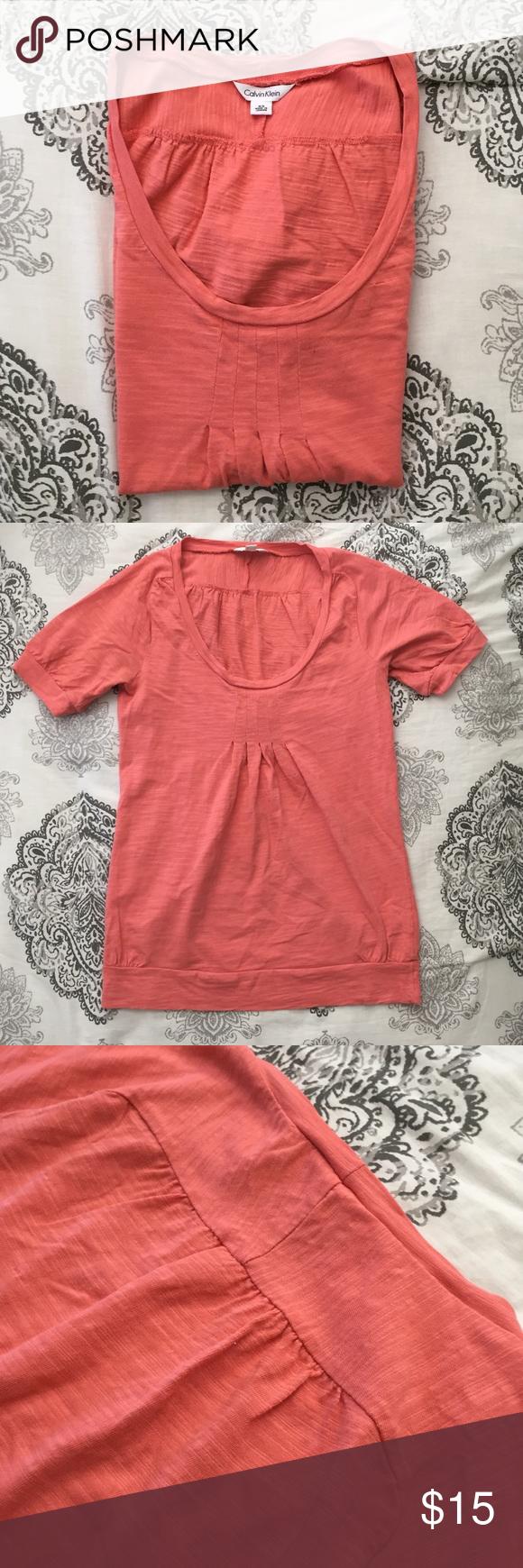 Calvin Klein Short Sleeve Shirt Calvin Klein Shorts Calvin Klein Coral Shirt [ 1740 x 580 Pixel ]