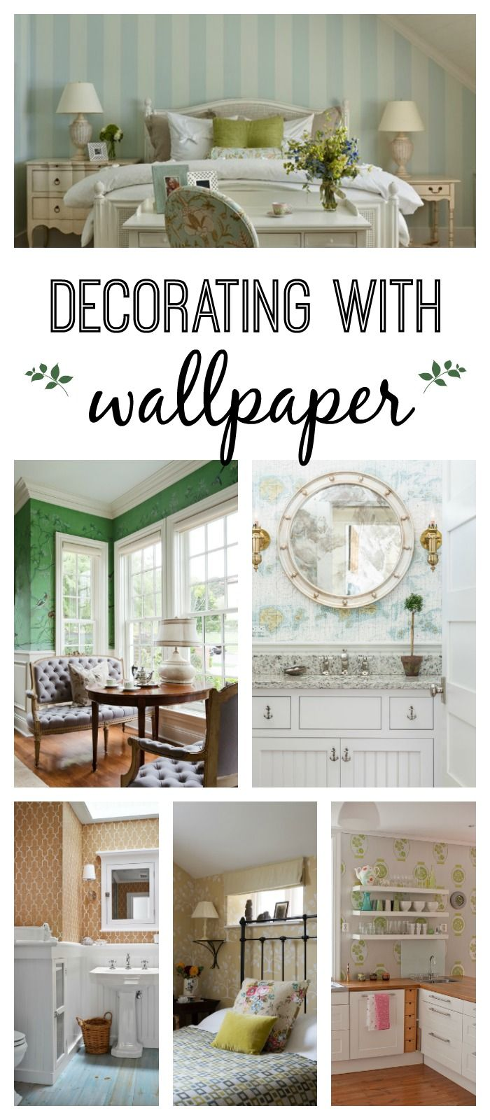 Decorating With Wallpaper 13 Ideas