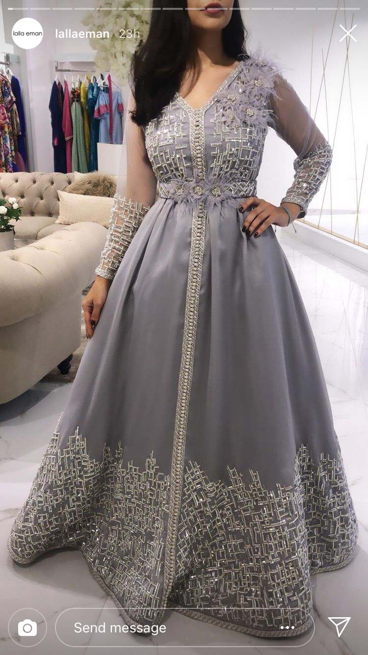 3896670787acca Pin van Manal Cheddad Harrak op Lebsa in 2019 - Caftan dress ...